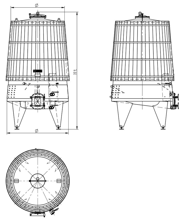 Ферментатор комбиниран