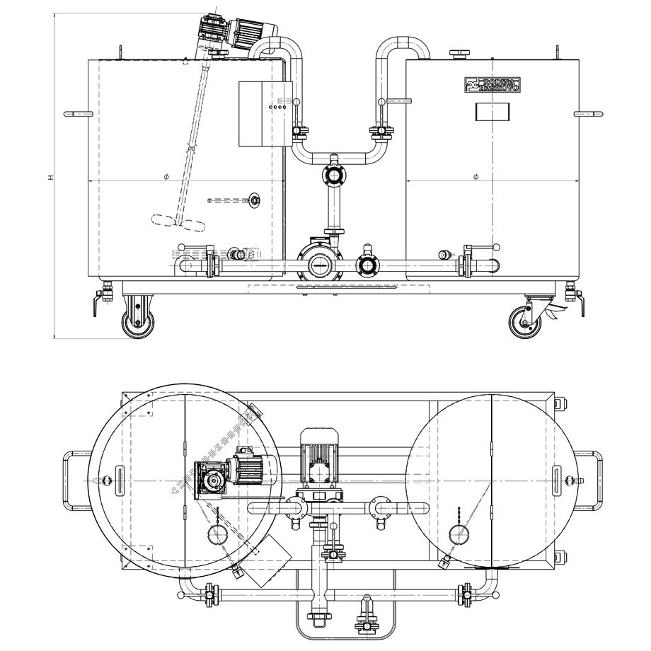 CIP система за измиване